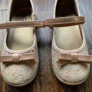 Naturino Express Mary Jane Marietta gold shoes